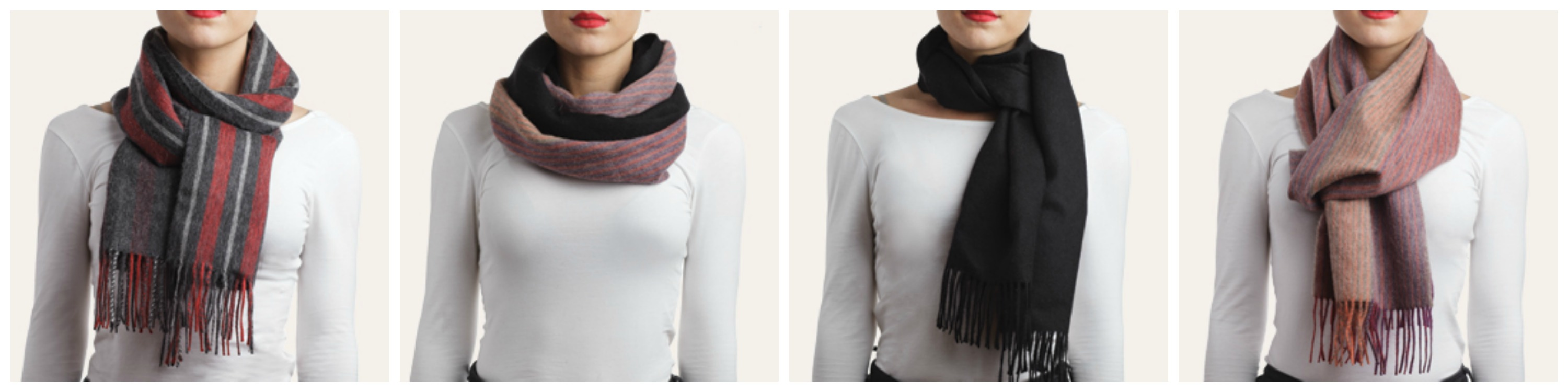 Scarf Knots | Cool Scarfs | Types of Scarves