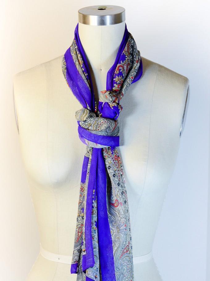 Scarf Knots | How To Tie A Rectangular Scarf | Ways To Tie A Shawl Wrap