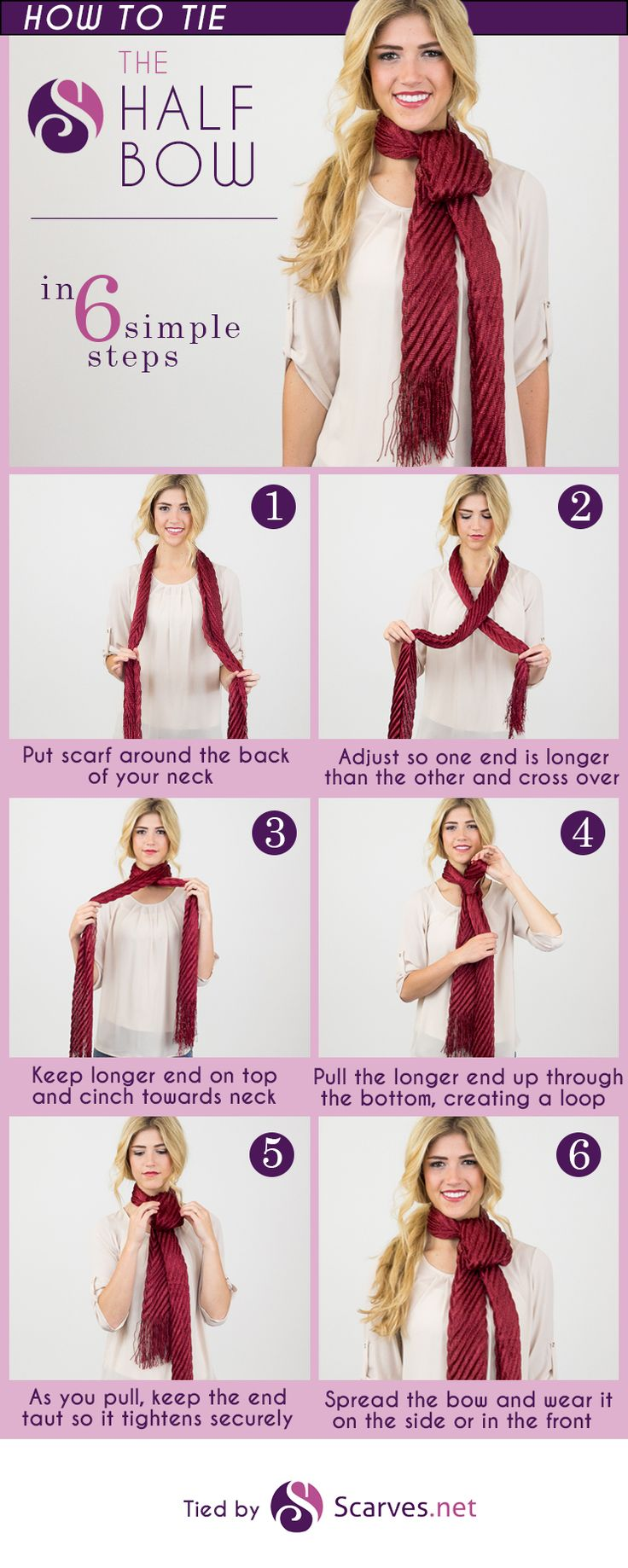 Scarf Knots | How to Tie Hermes Scarf | How to Wear A Rectangle Scarf