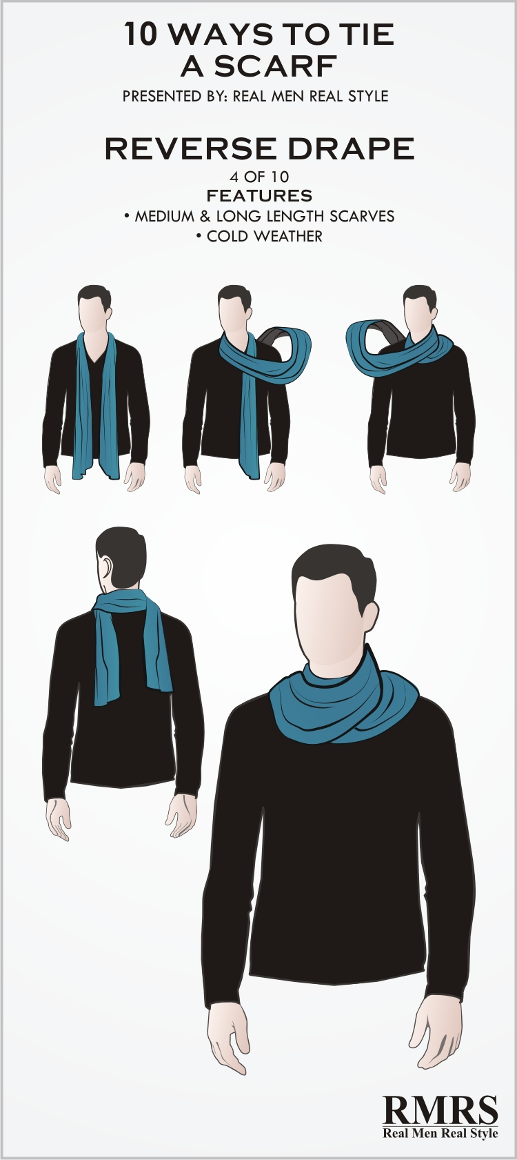 Scarf Knots | Scarf Tying Instructions | Guy Scarves