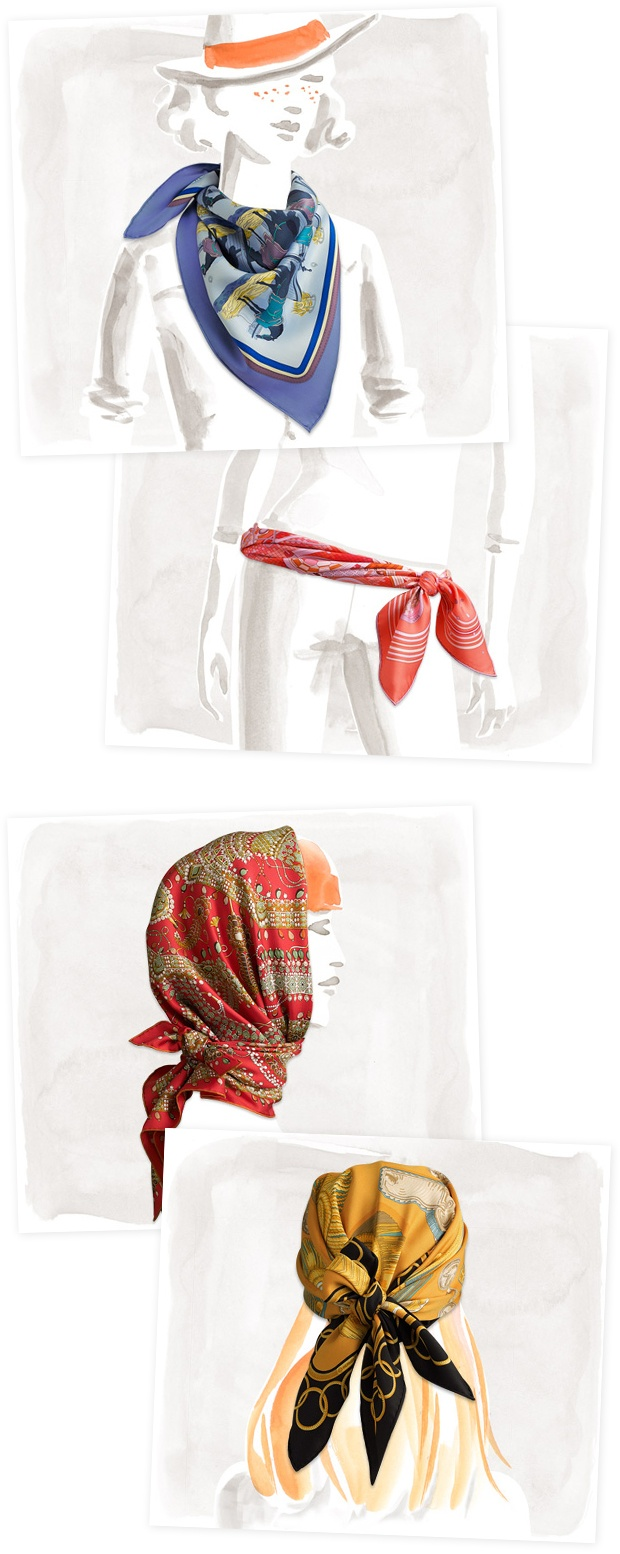Scarf Knots | Tying Scarf | Hipster Scarf