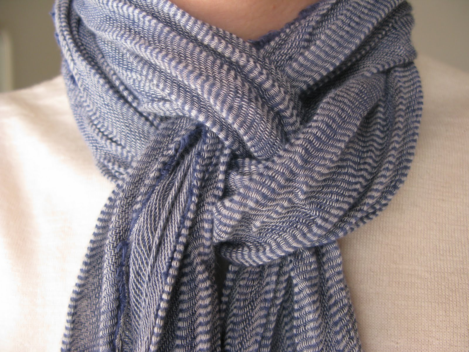 Scarfman | Scarf Knots | Thick Mens Scarf