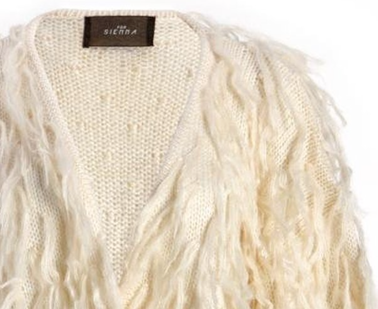 Shaggy Sweater | Shaggy Sweater | Yarn Vest