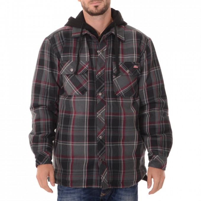 Shammy Shirt | Quilted Flannel Shirt | Mens Flannel Shirt With Quilted Lining
