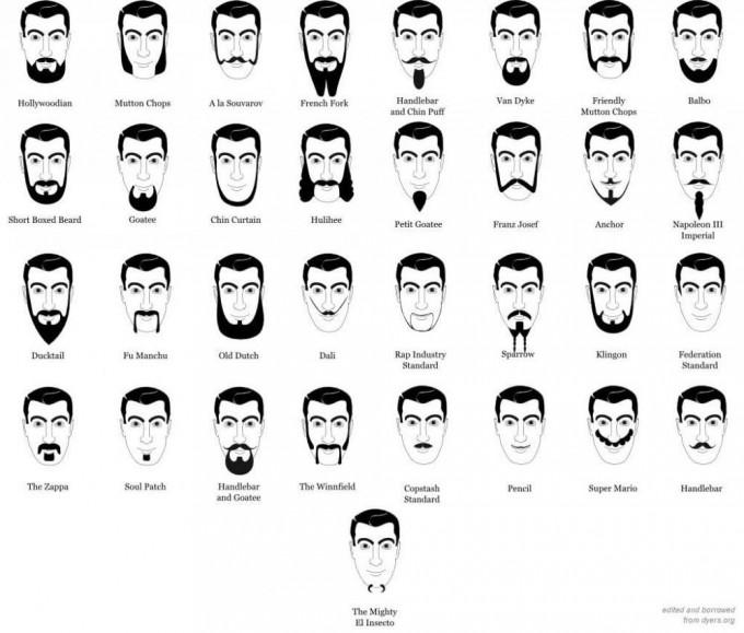 Shaved Beard | Chin Beards | Mens Goatee