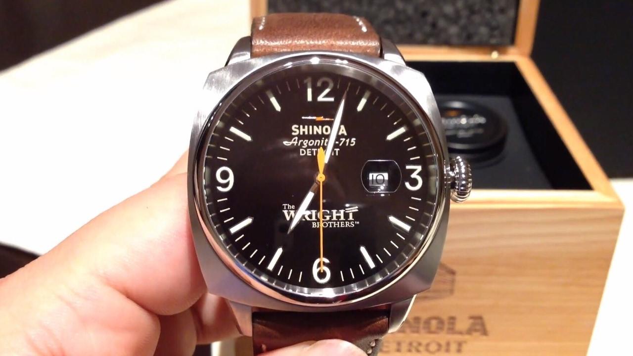 Shinola Detroit | Is Shinola A Good Watch | Shinola Watch