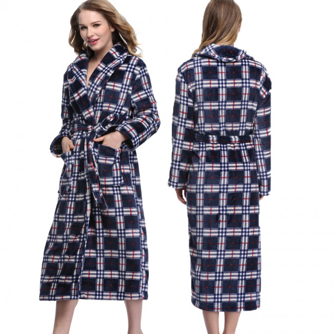 Short Bathrobe | Plush Bathrobes | Womens Winter Robes