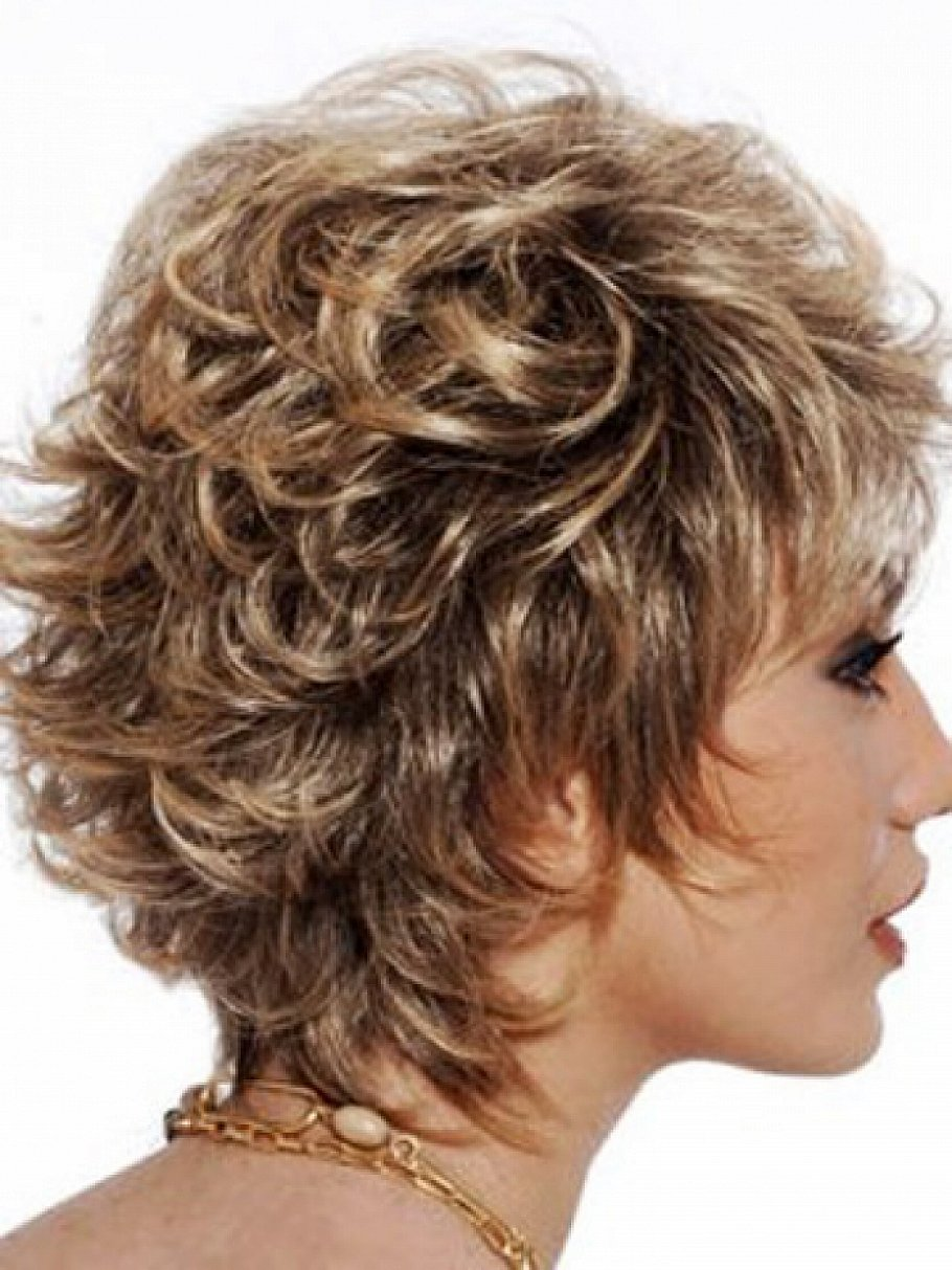 Short Hair for Curly Hair | Layered Curly Hair | Short Hairstyles for Naturally Curly Hair