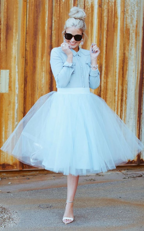 Short Tulle Skirt | Tulle Midi Skirt | Midi Skirt Tulle