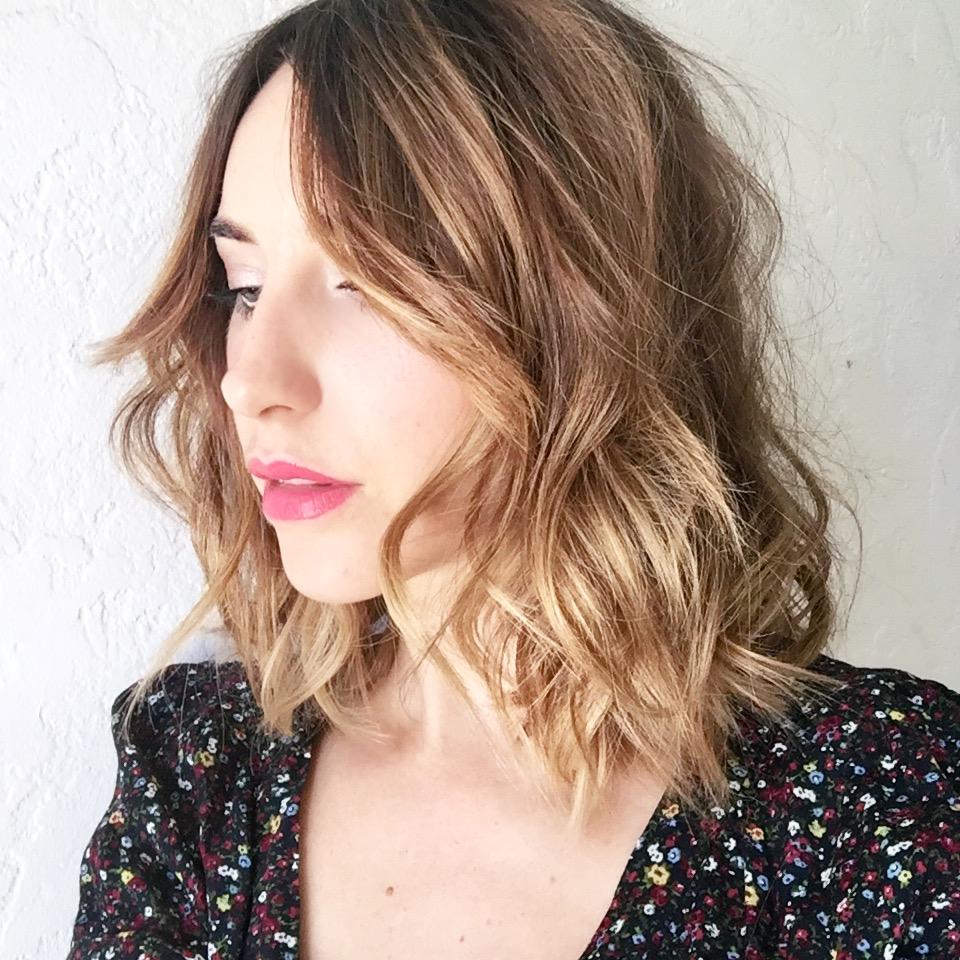 Short Wavy Hair | Haircuts for Naturally Wavy Hair | Wavy Beach Hair