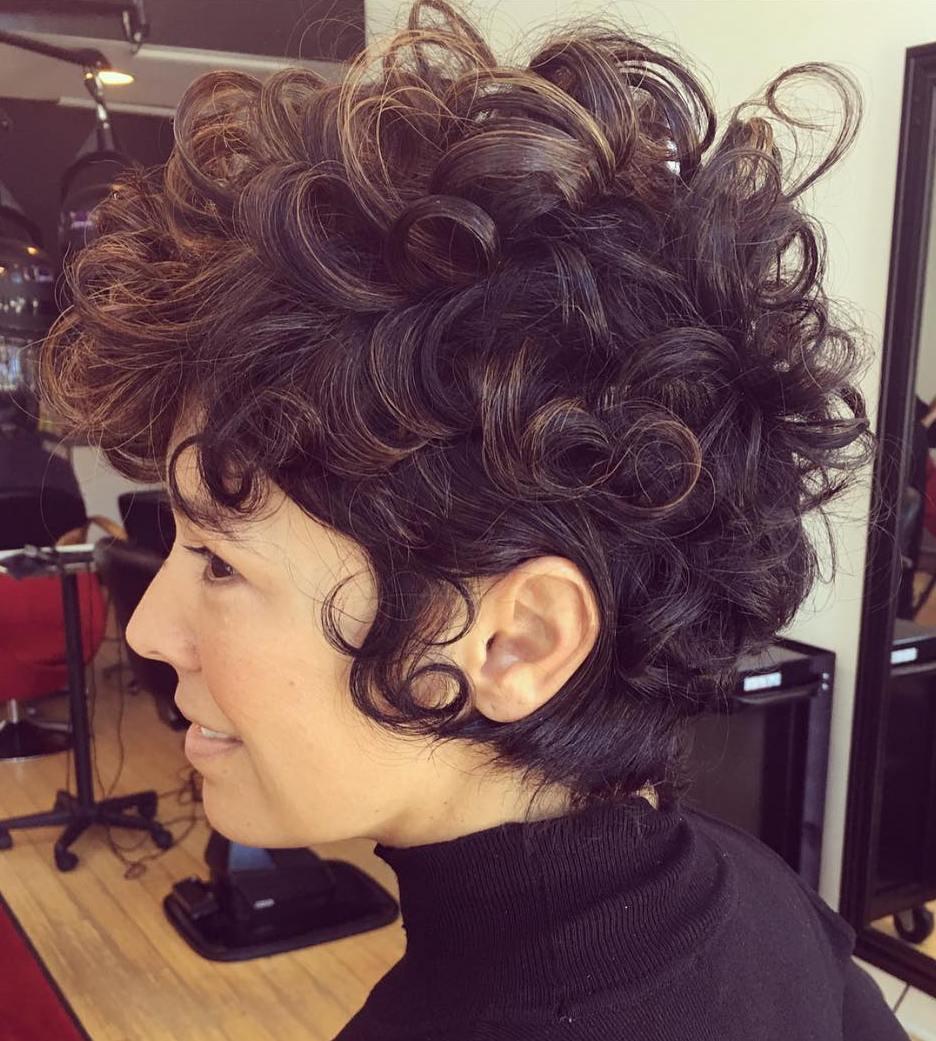 Short Wavy Hair | Naturally Curly Short Hairstyles | Short Layered Hair Cuts