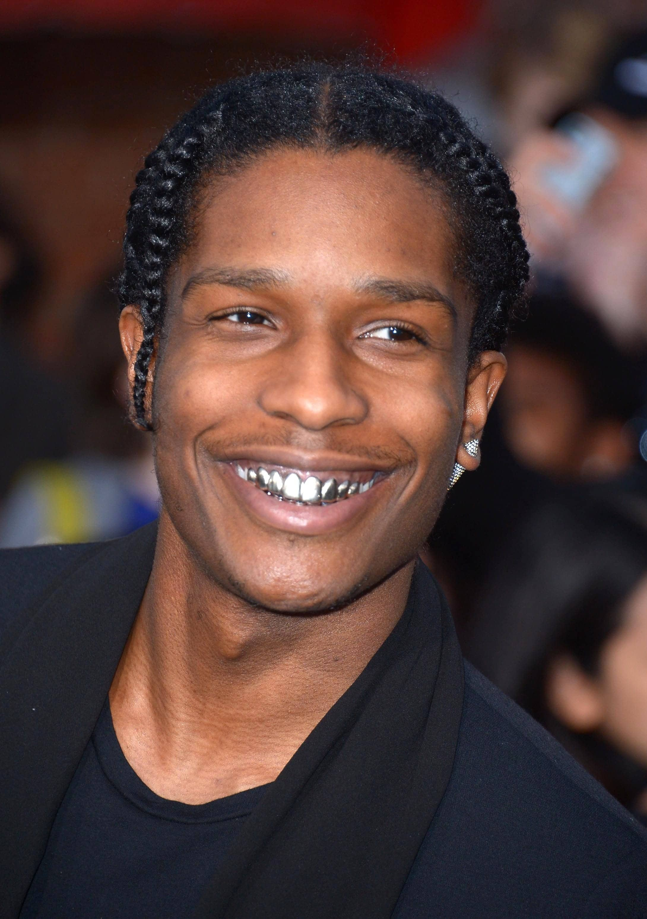 Side Corn Braids | Men Twist Braids | Asap Rocky Braids