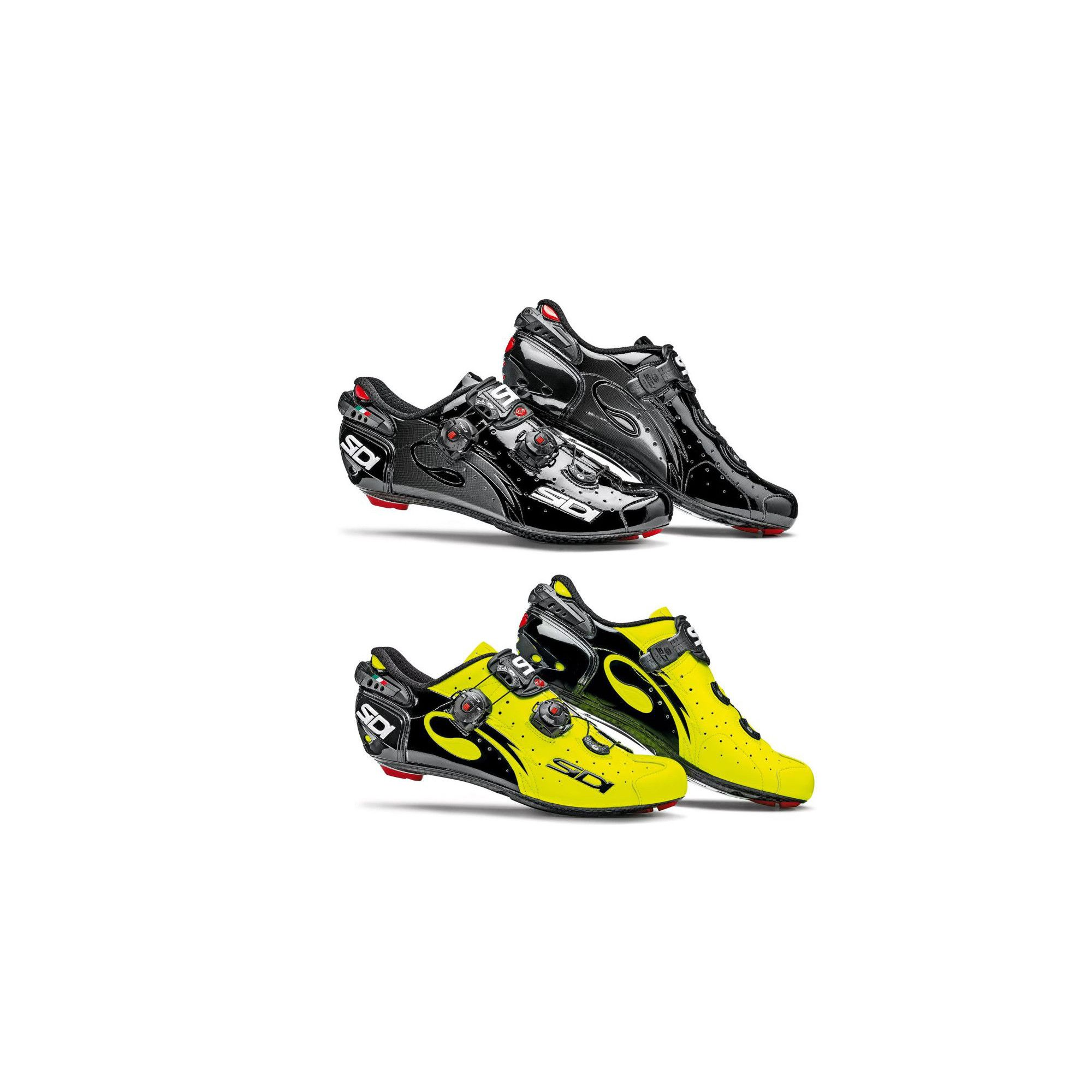 Sidi Wire Sp Carbon | Sidi Wire Carbon Vernice | Sidi Wire Yellow