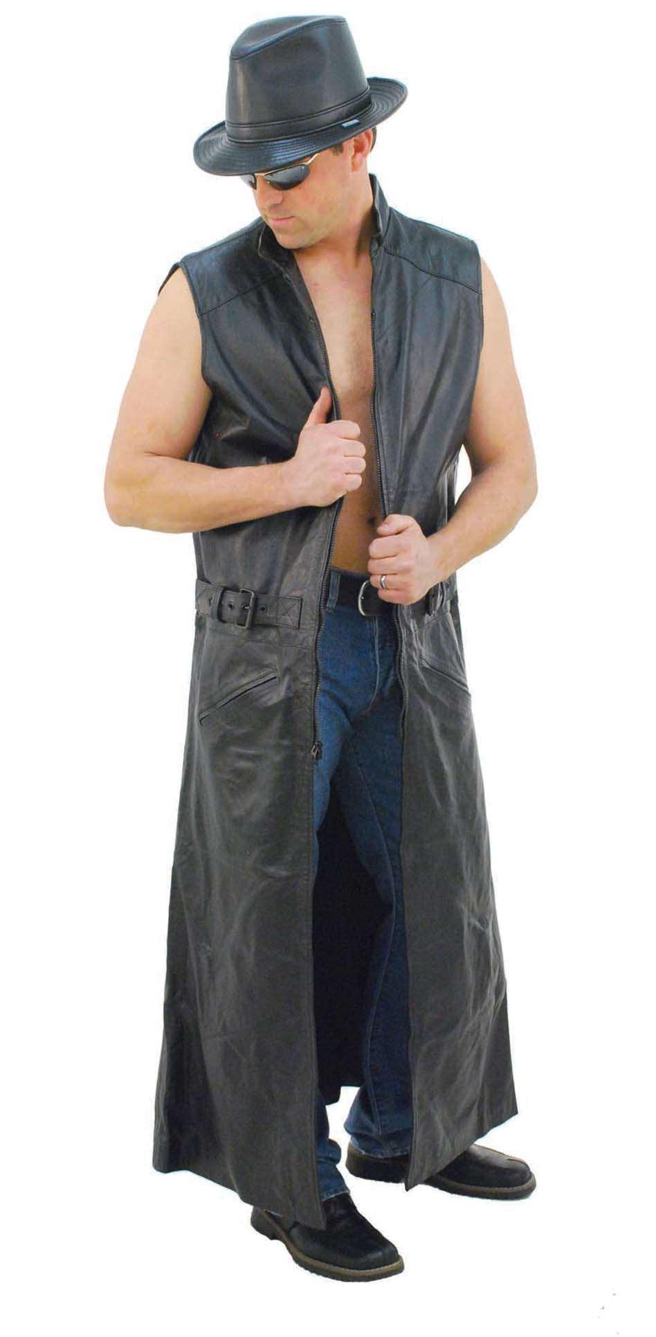Silk Duster Coat   Lightweight Trench Coat   Sleeveless Trench Coat