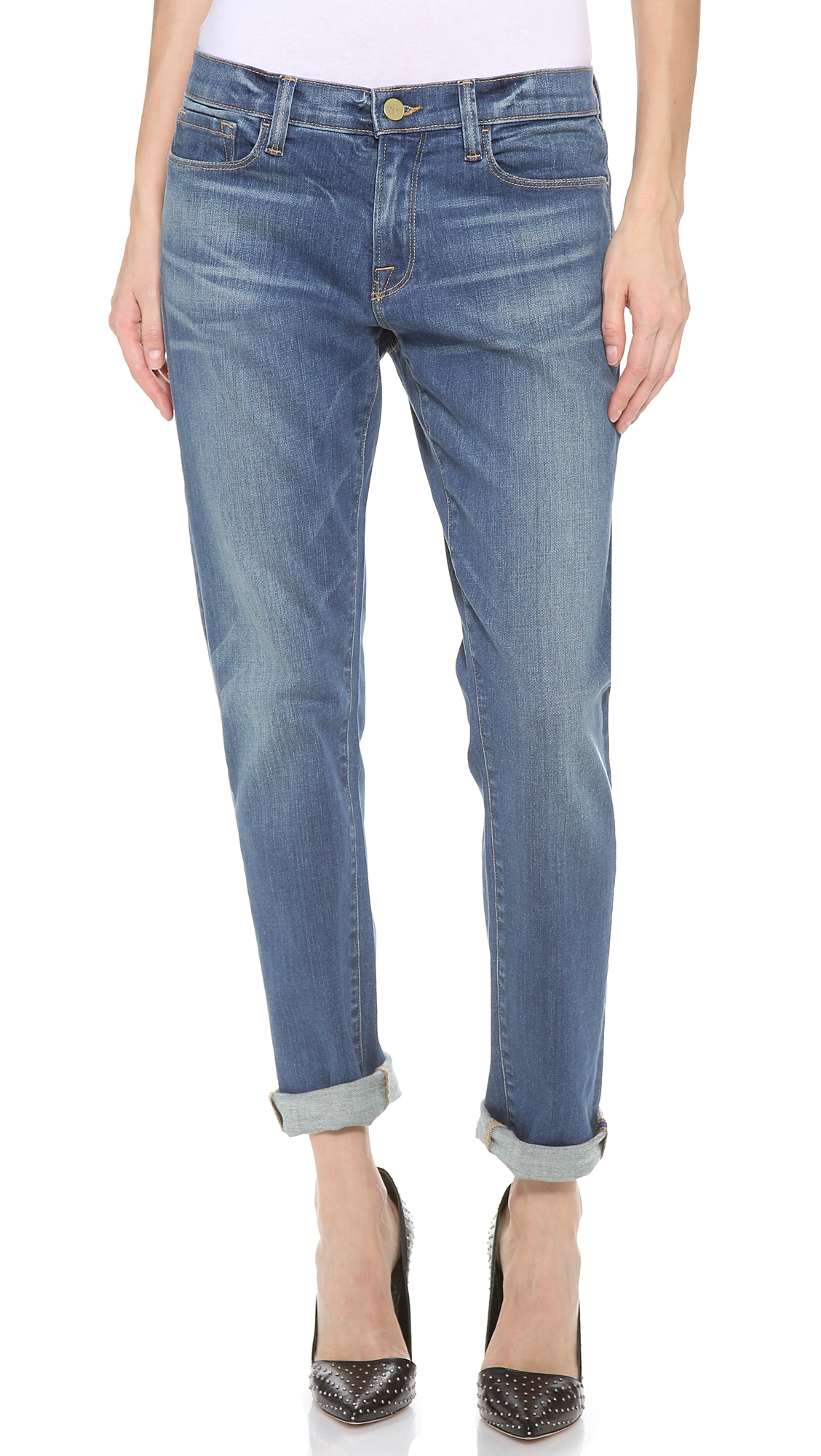 Simple Frame Denim Le Garcon | Splendiferous Soft Stretchy Jeans
