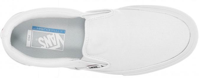Skater Vans | All White Vans Slip Ons | White Van Slip Ons
