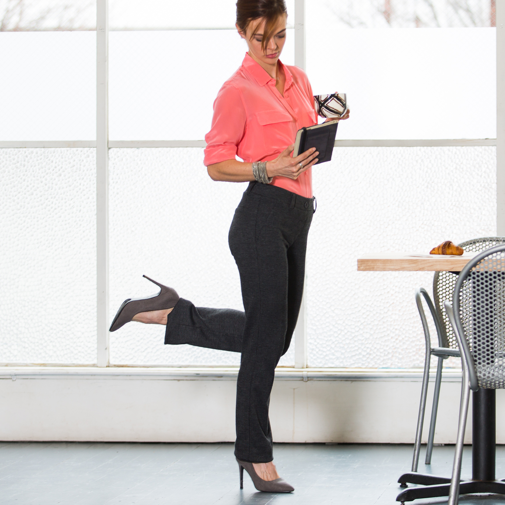Skinny Girl Yoga Pants | Styling Yoga Pants | Betabrand Yoga Dress Pants