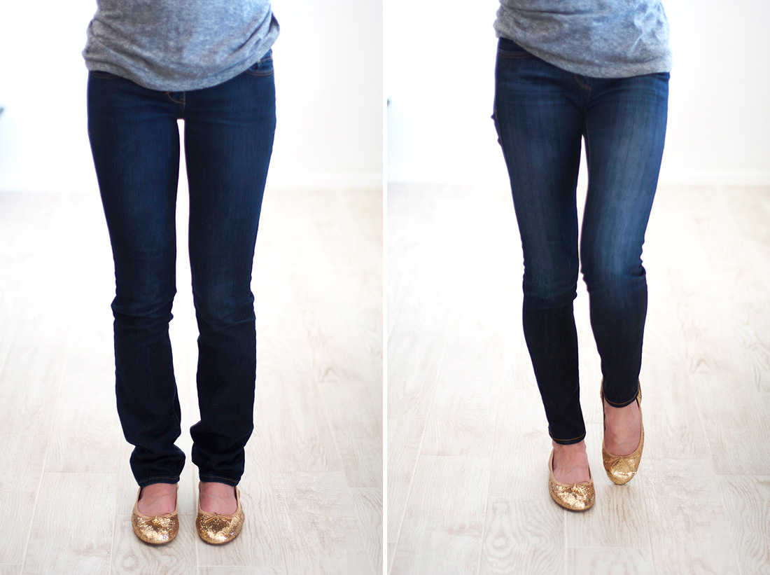 Skinny Jeans for Short Legs | How to Make Jeans Skinnier | How to Keep Jeans From Shrinking