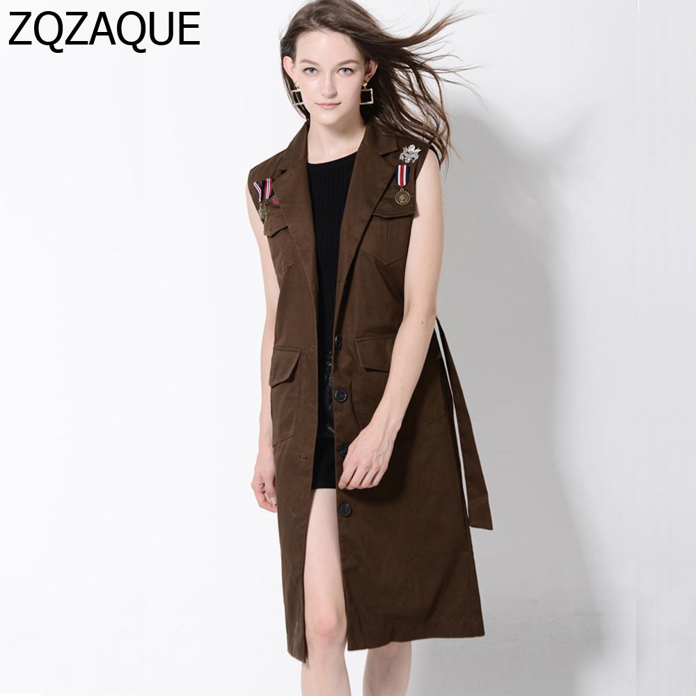 Sleeveless Trench Coat | Blush Trench Coat | Tan Trench Coat Women