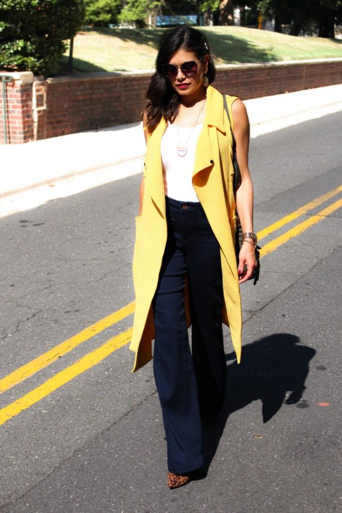 Sleeveless Trench Coat | Draped Trench Coat | Womens Trench Coats