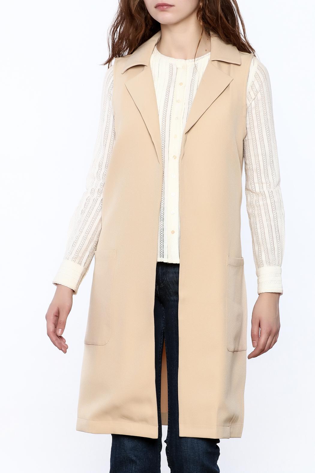Sleeveless Trench Coat Dress | Burgundy Trench Coat Womens | Sleeveless Trench Coat