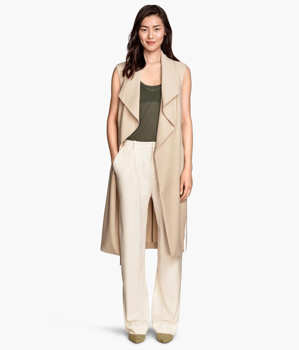 Sleeveless Trench Coat | Womens Trench Coat Cheap | Sleeveless Trench Coat Dress
