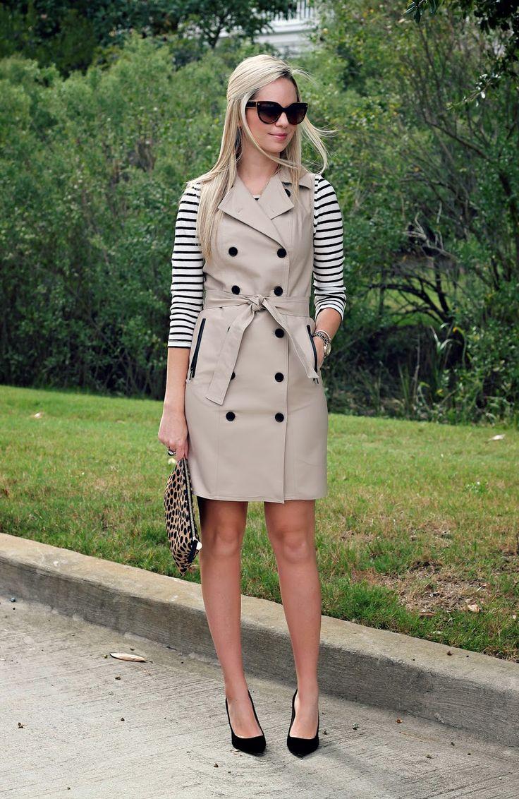 Sleeveless Trench Coat   Womens Trench Coat Sale   Beige Womens Trench Coat