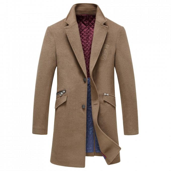 Slim Fit Overcoat | Mens Trench Coats | Mens Overcoats
