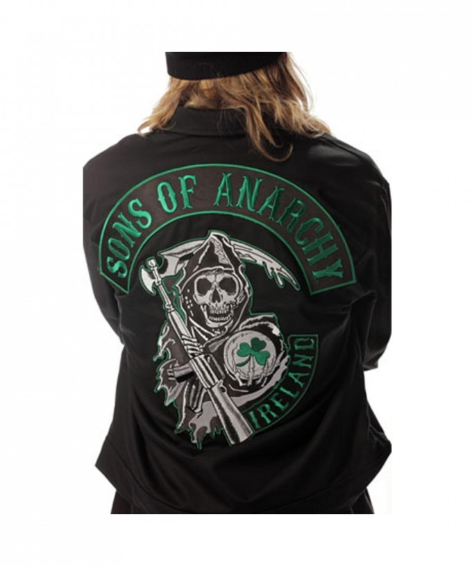 Sons Of Anarchy Costume | Sons Of Anarchy Leather Jacket | Sons Of Anarchy Leather Vest
