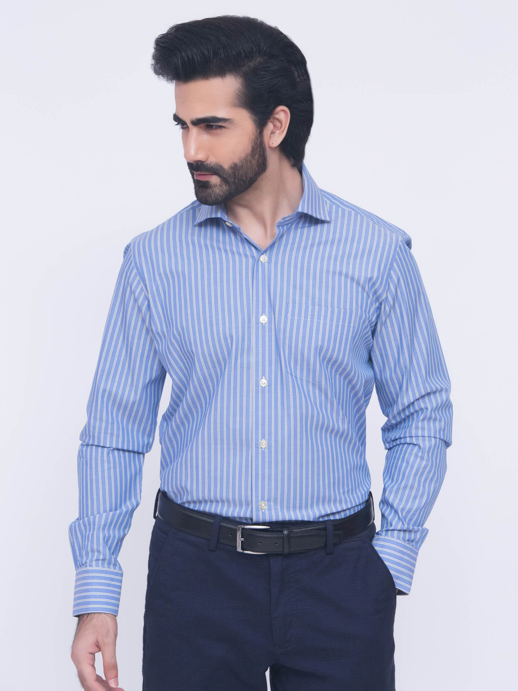 Spread Collars | Modena Cutaway Collar Dress Shirts | Cutaway Collar