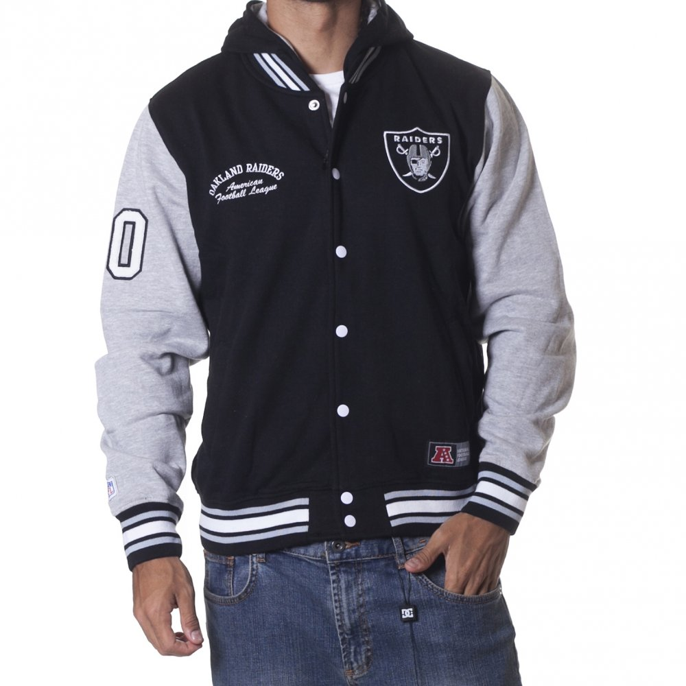 Starter Jackets Ebay | Raiders Letterman Jacket | Cheap Raiders Hoodies