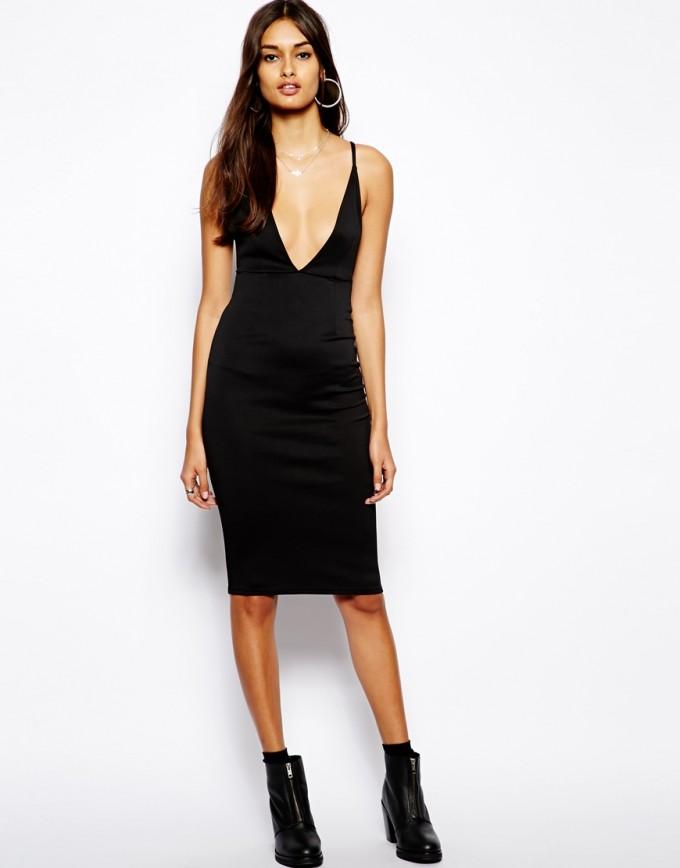 Strapless Low Cut Dress | Plunge Neckline Prom Dress | Plunging Neckline Dress
