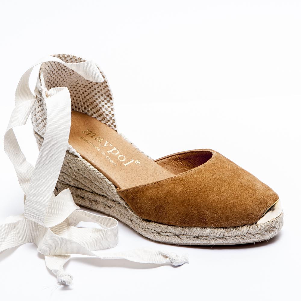 Suede Espadrilles | Espadrilles Tie Up | Lace Espadrille Flats