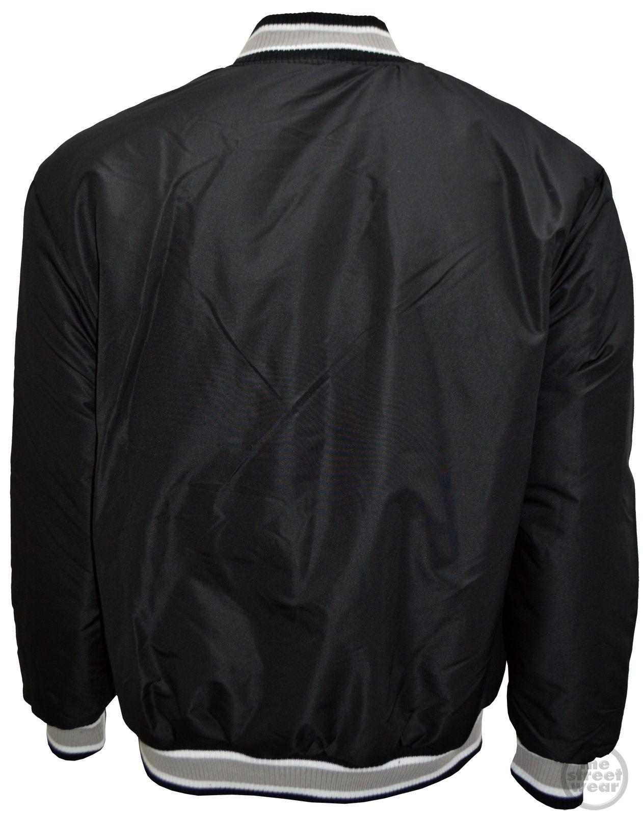 Suede Varsity Jacket | Raiders Varsity Jacket | Leather Raiders Jacket