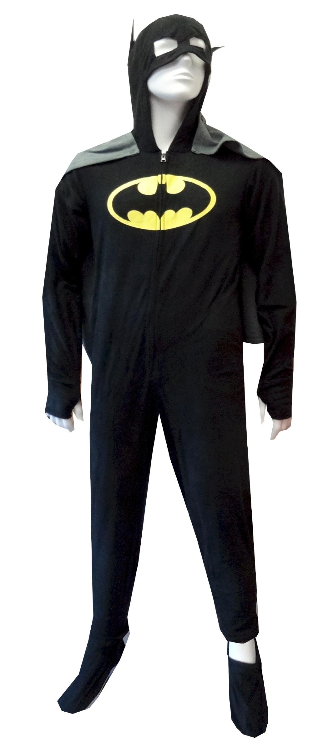 Superhero Onesie Pajamas | Batman Onesie | Superhero Onesies for Men