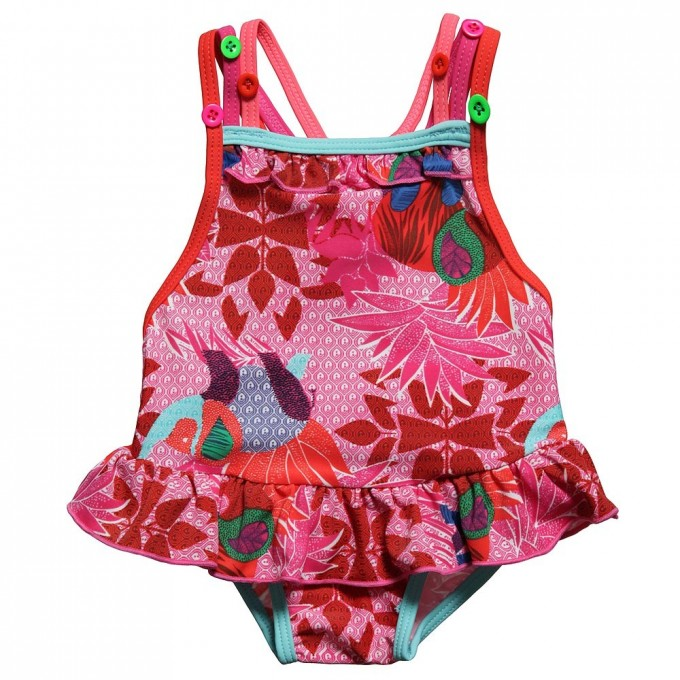 Swimsuits For Teens | Frilly Swimsuit | Peplum Tankini Bathing Suit