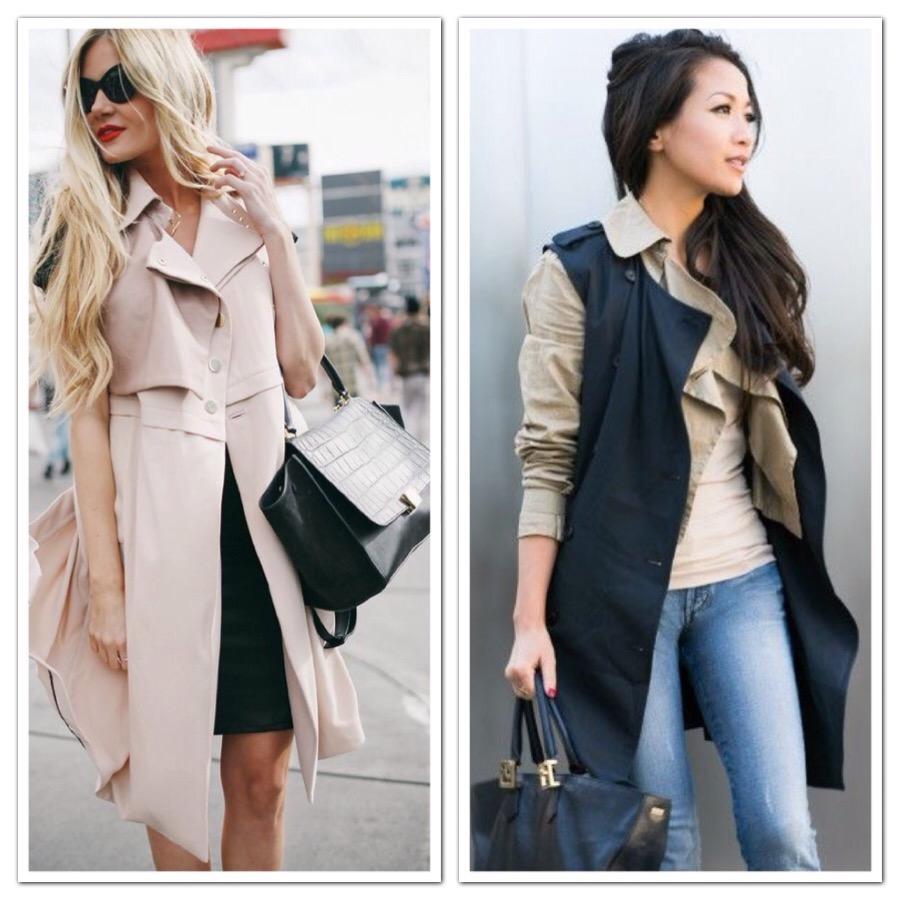 Tan Trench Coat Cheap | Tan Trench Coat Women | Sleeveless Trench Coat