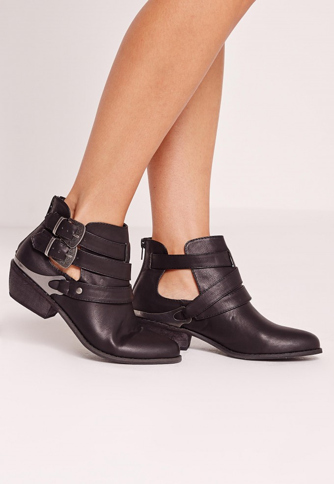 Taupe Ankle Boots | Kohls Ladies Boots | Black Ankle Boots With Buckles