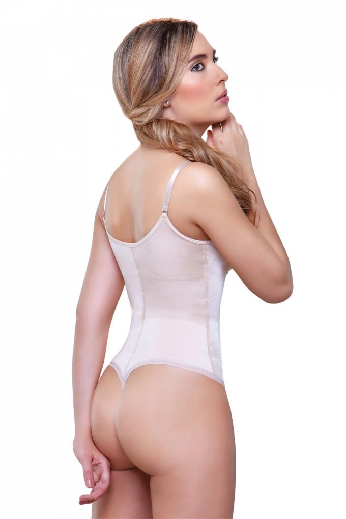 Thong Bodysuit | Thong Spandex Bodysuit | Nude Sheer Bodysuit