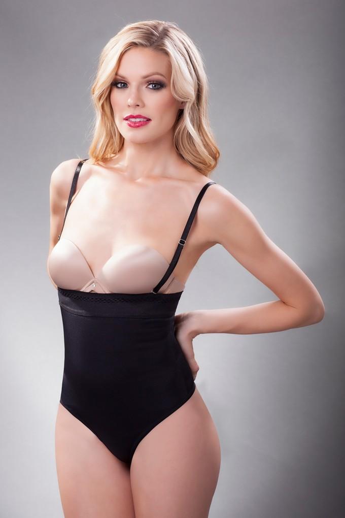 Thong Bodysuit | Thong Tank Bodysuit | Nude Bustier