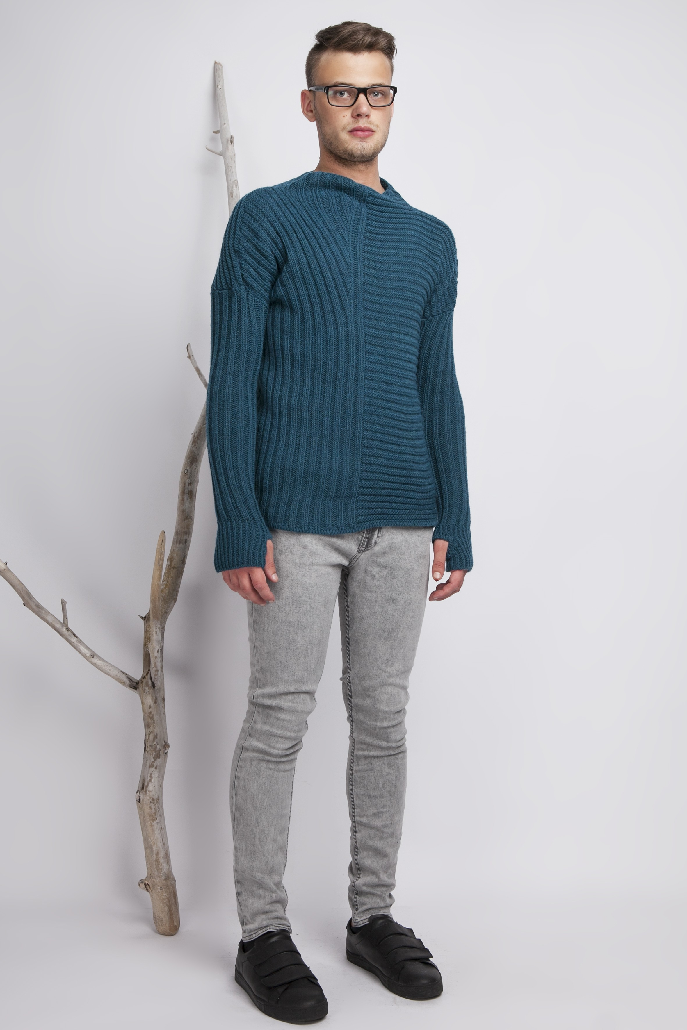 Thumbhole Sweater | Jacket with Thumb Holes Mens | Sweaters with Finger Holes