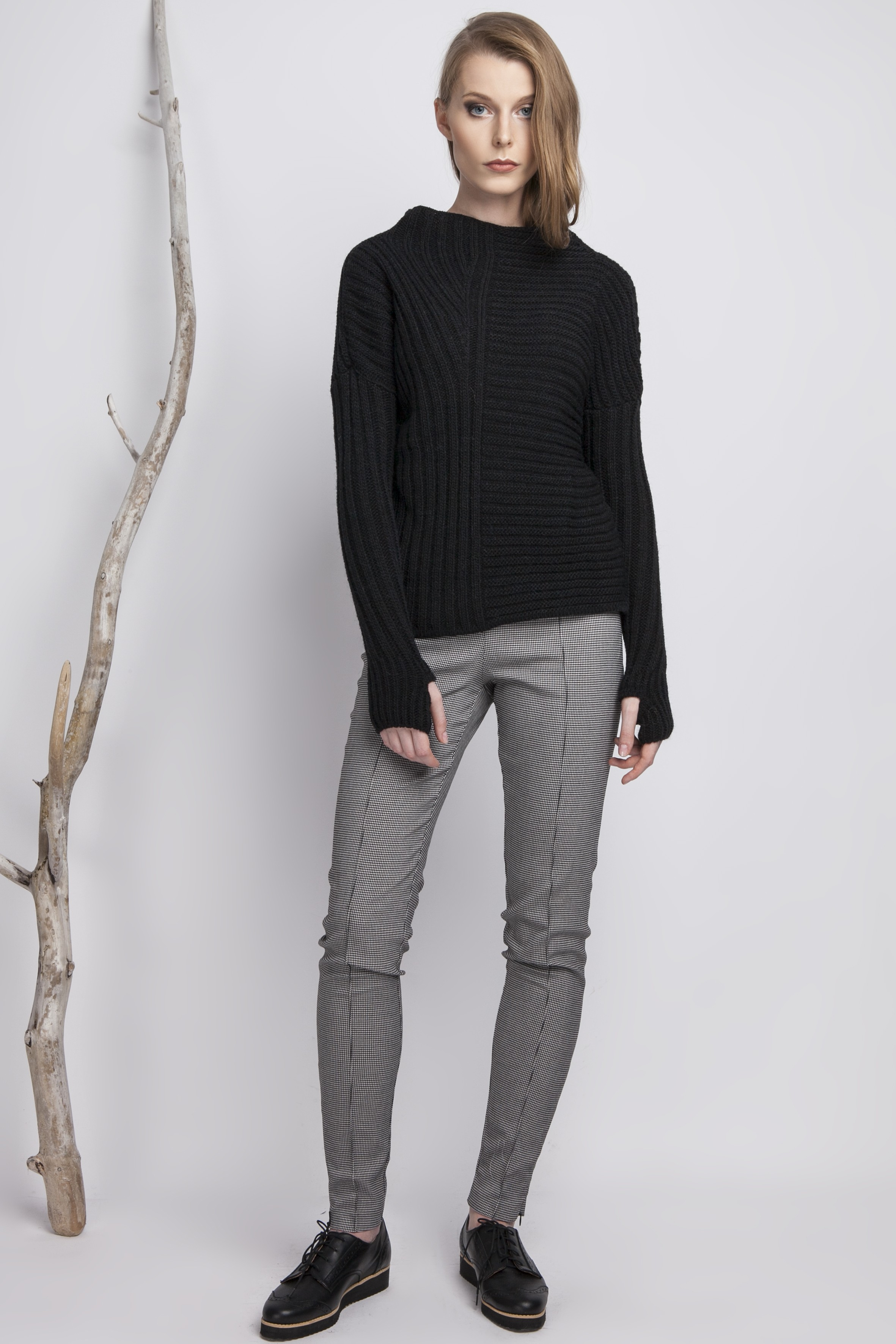 Thumbhole Sweater | Sweater with Holes in Sleeves | Hoodie Thumb Holes