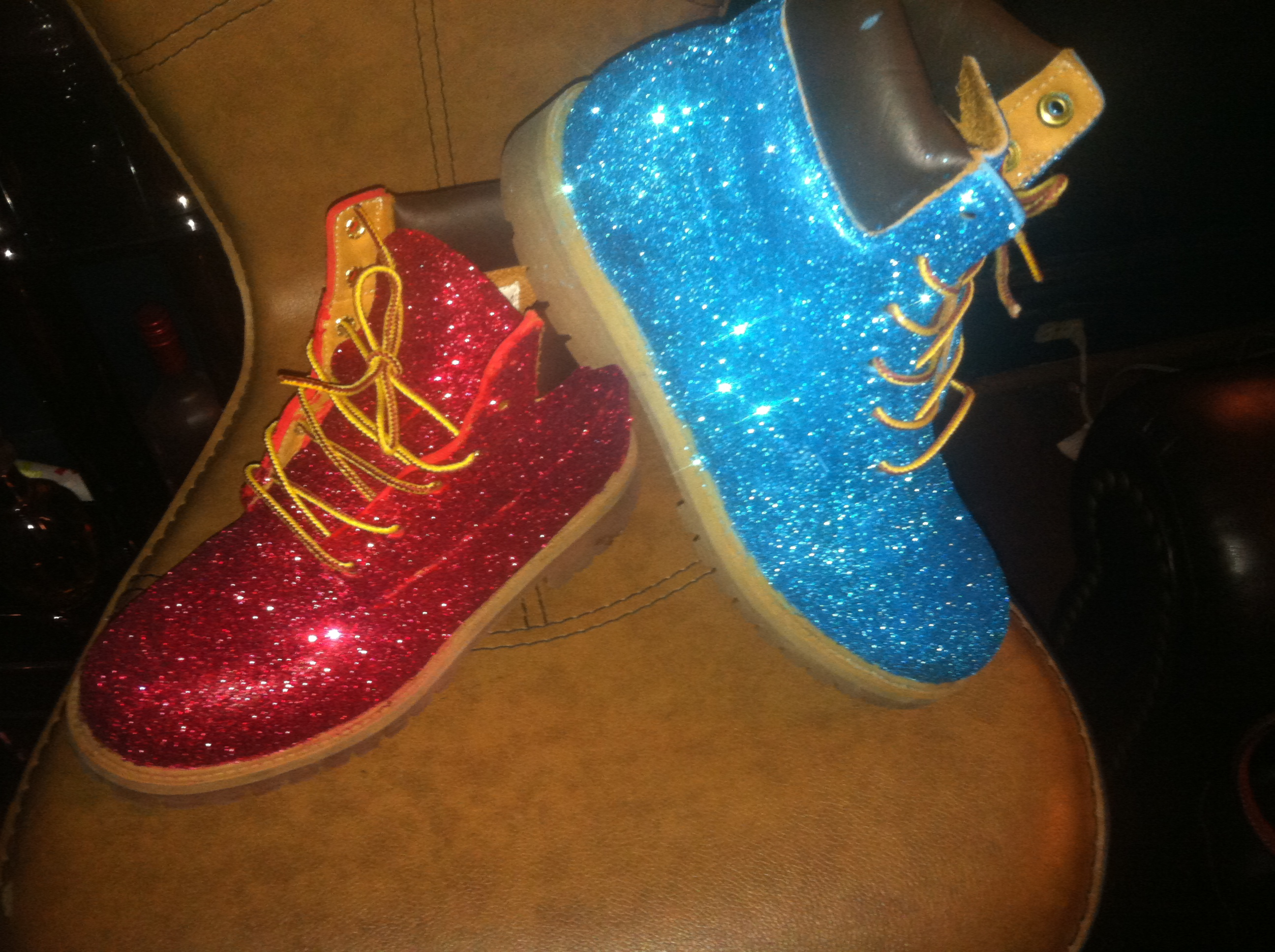 Timberland Heel Boots | Custom Timbs | Colored Timberlands