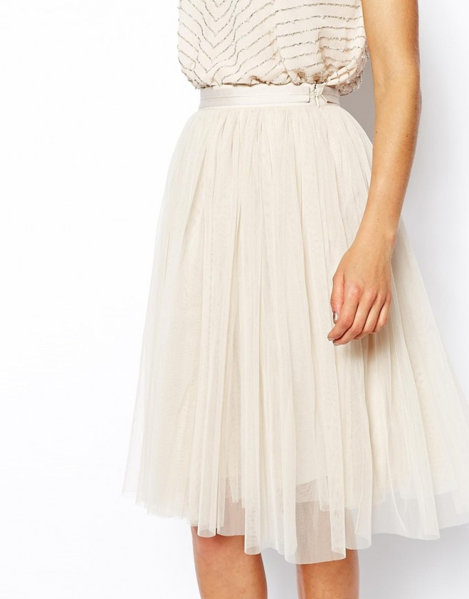 Tulle Midi Skirt | Ballerina Tulle Skirt | Tulle Mini Skirt