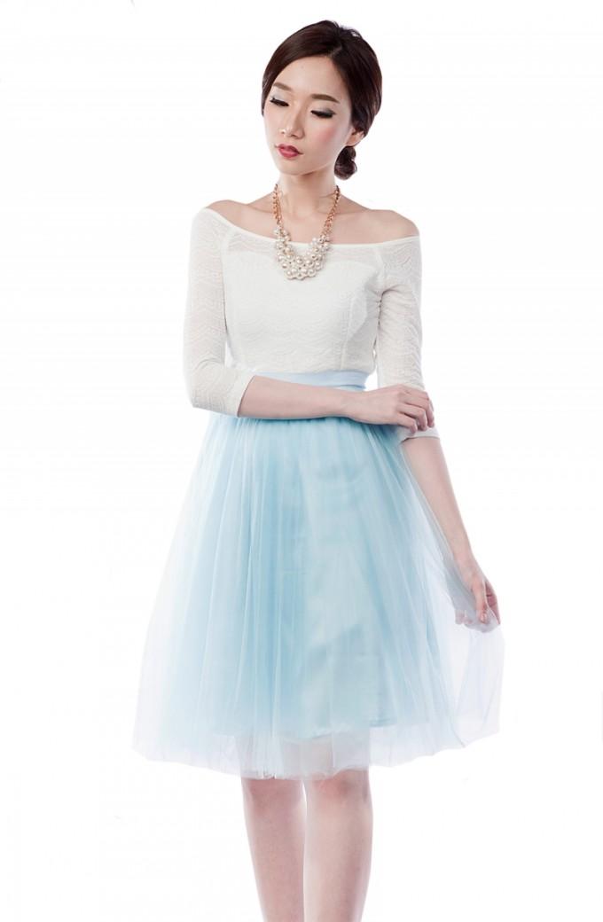 Tulle Midi Skirt | Black Long Tulle Skirt | Midi Length Skirts