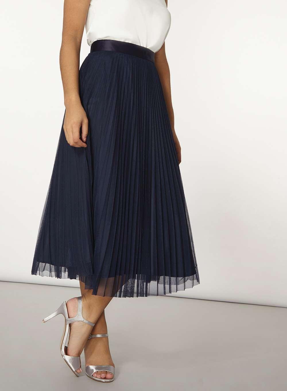 Tulle Midi Skirt | Hot Pink Tulle Skirt | Tulle Midi Skirt