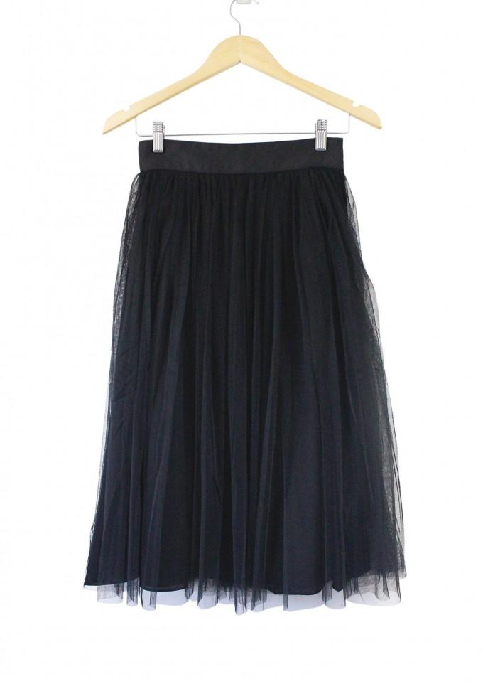 Tulle Midi Skirt | Ivory Tulle Skirt | Tulle Skirt Midi