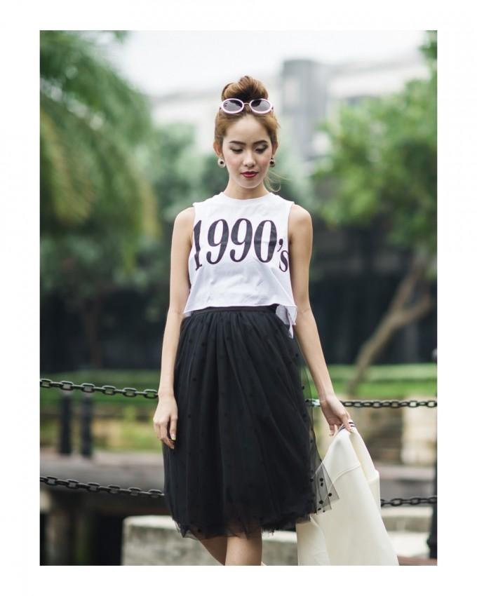 Tulle Midi Skirt | Nude Tulle Dress | Tule Skirts