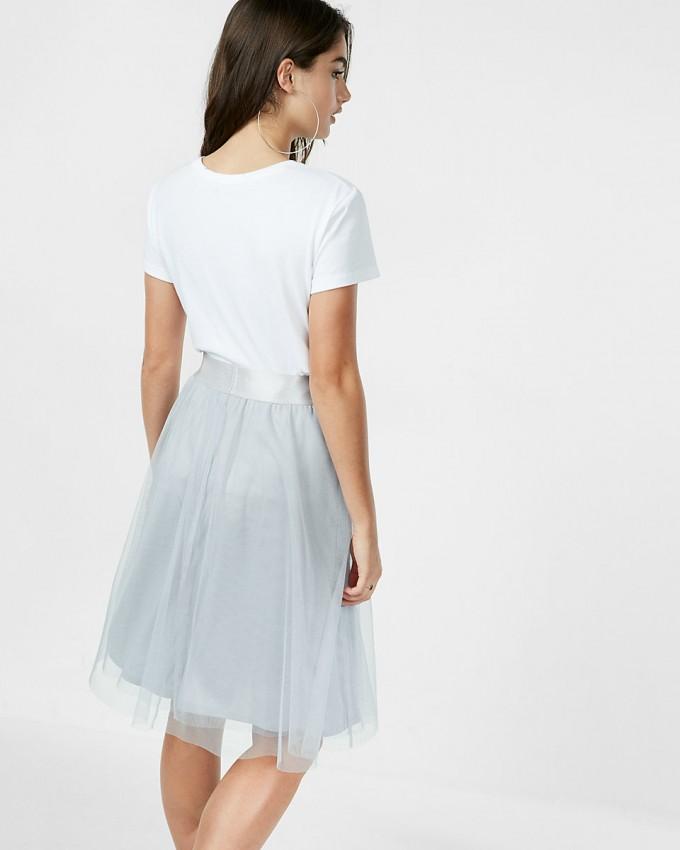 Tulle Midi Skirt | Tulle Skirt Dress | Pleated Midi Skirts