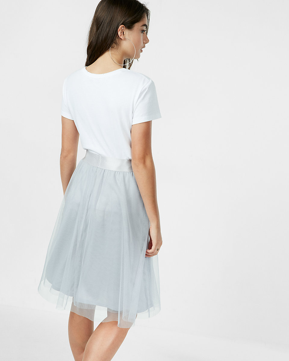 Tulle Midi Skirt | Tulle Skirt Dress | Pleated Midi Skirts